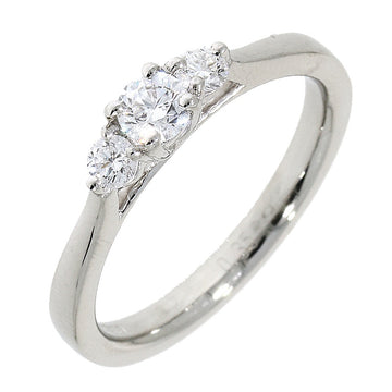 Platinum 0.36ct 3 Stone Diamond Ring