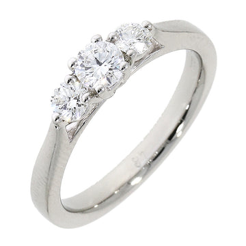 Platinum 0.50ct 3 Stone Diamond Ring