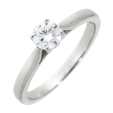 Platinum 0.45ct Solitaire Diamond Ring