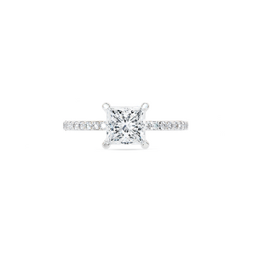 Platinum 1.10ct Diamond Solitaire Ring