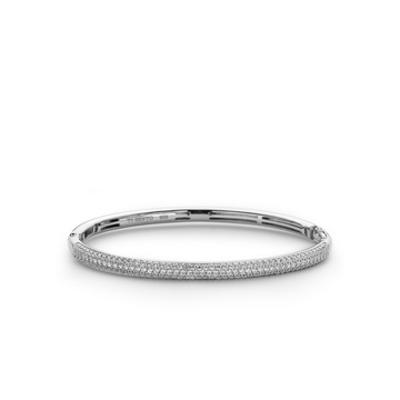 Ti Sento Pave Bangle