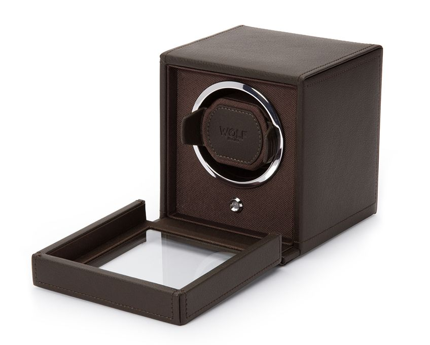 Wolf Cub Watch Winder With Cover