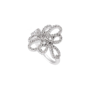 Diamonfire Fancy Cluster Ring