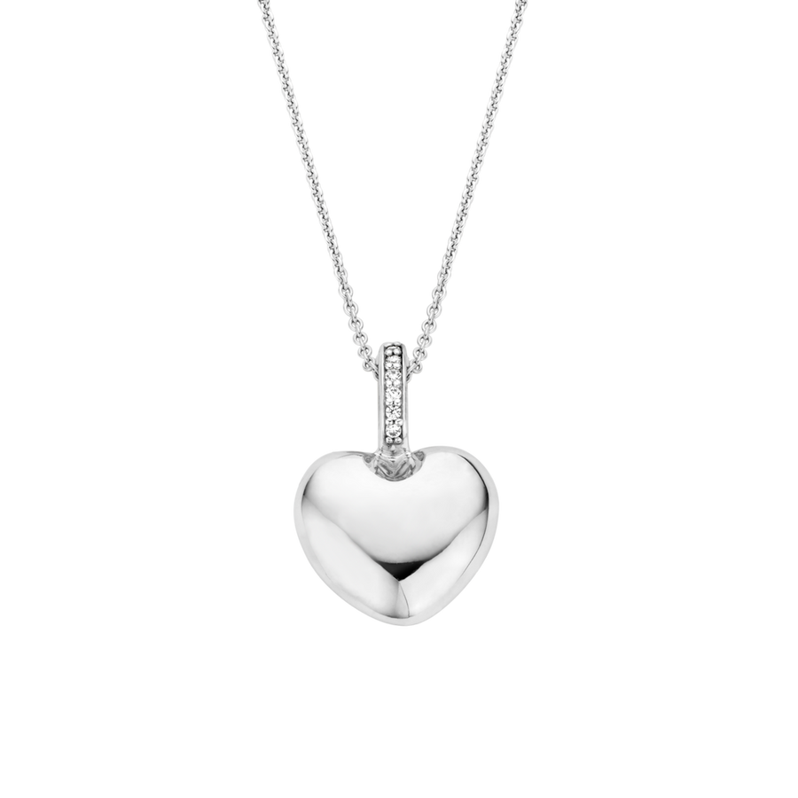 Ti Sento Heart Necklace