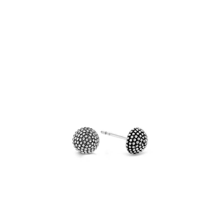Ti Sento Bubbles Domed Stud Earrings