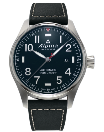 Mens Alpina Startimer Pilot Watch