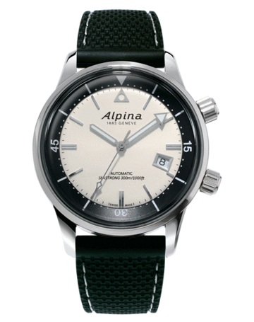 Mens Alpina Seastrong Diver Heritage Watch