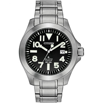 Mens Citizen Promaster Titanium Watch