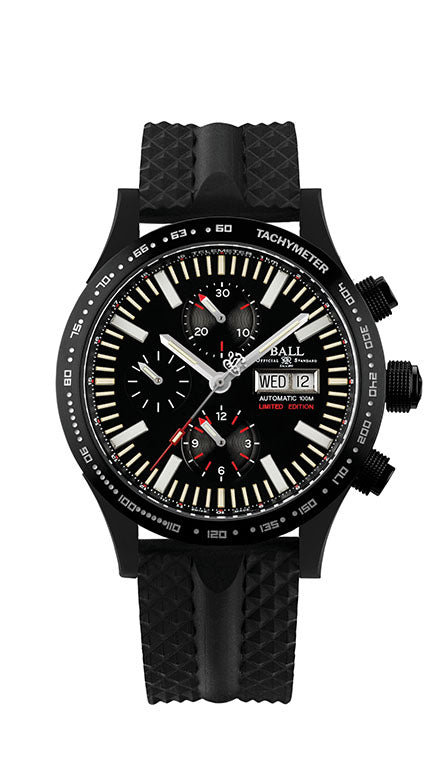 Mens Limited Edition Fireman Stormchaser Ball Watch