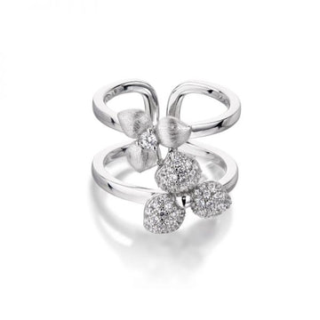 Vixi Desert Flower Double Ring