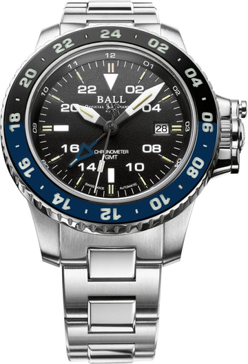 Mens AeroGMT II (Batman) Ball Watch