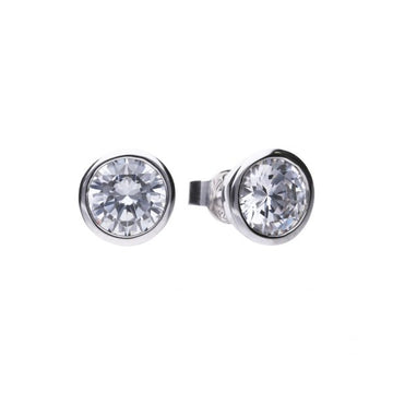 Diamonfire 3.00ct CZ Stud Earrings