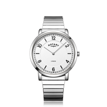 Mens Rotary Expanding Bracelet Watch