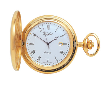 Full Hunter Woodford Pocket Watch