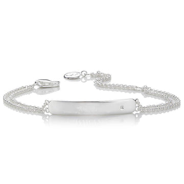 Molly Brown London My First Diamond ID Bracelet