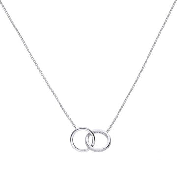 Diamonfire Interlocking Rings CZ Necklace