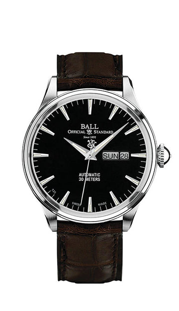Mens Trainmaster Eternity Ball Watch
