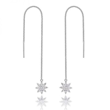 Vixi Nova Shoulder Grazer Drop Earrings