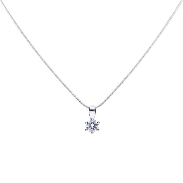 Diamonfire 0.50ct CZ Necklace