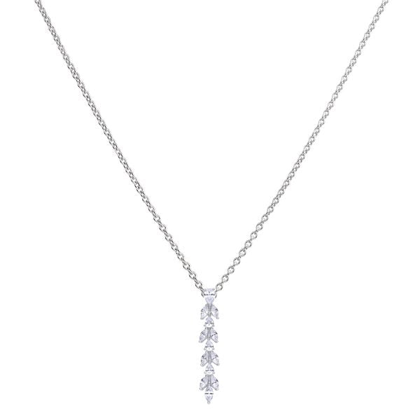 Diamonfire Vine Drop Necklace