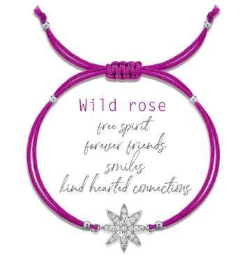 Vixi Superstar Wild Rose Friendship Bracelet