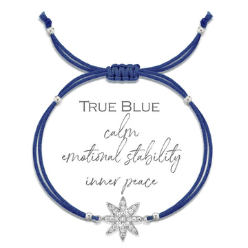 Vixi Superstar True Blue Friendship Bracelet