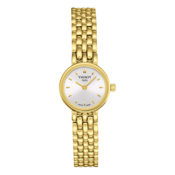 Ladies Gold PVD Tissot Lovely Watch on Bracelet