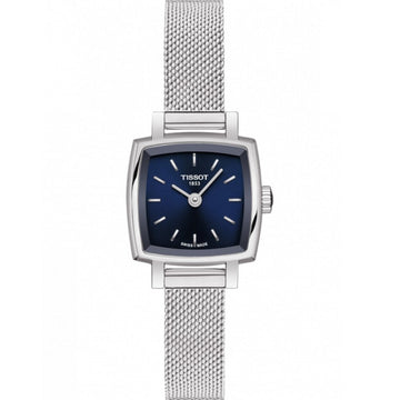 Ladies Steel Tissot Lovely Square Watch on Bracelet