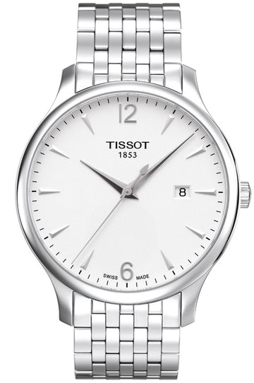 Mens Steel Tissot Tradition Watch on Bracelet