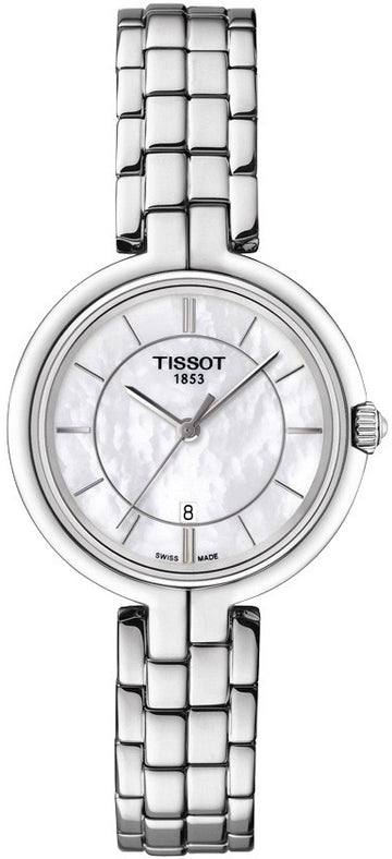 Ladies Steel Tissot Flamingo Watch on Bracelet