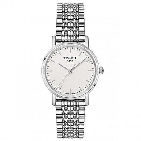 Ladies Steel Tissot Everytime Watch on Bracelet