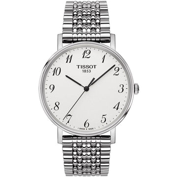 Mens Steel Tissot Everytime Watch on Bracelet