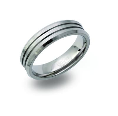 Mens Unique & Co Titanium Ring