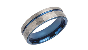 Mens Unique & Co Tungsten Carbide Ring