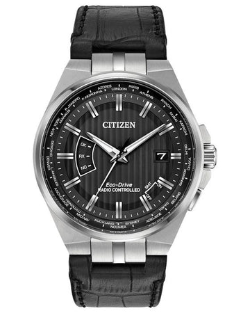 Mens Citizen World Perpetual Atomic Timekeeping Watch