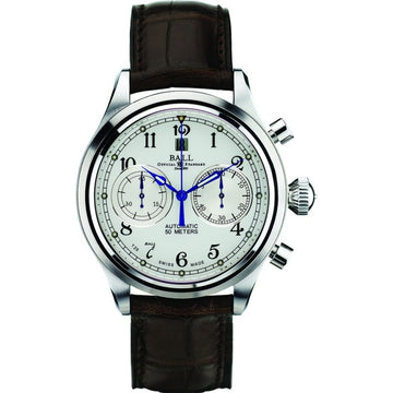 Mens Cannonball Trainmaster Ball Watch