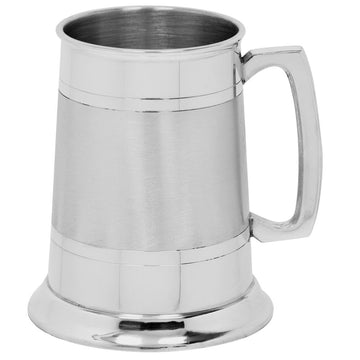 1 Pint Pewter Tankard