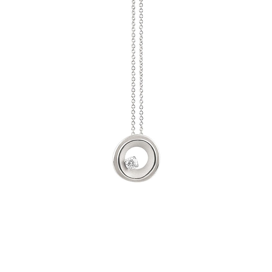 18ct White Gold Annamaria Cammilli My Way Necklace