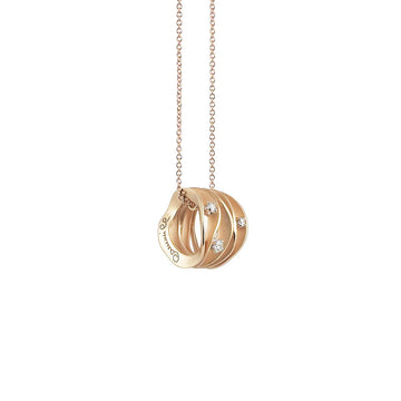 18ct Orange Gold Annamaria Cammilli Dune Necklace
