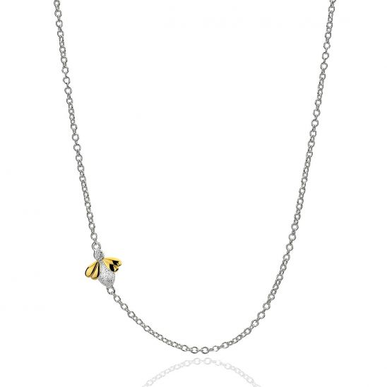 Molly Brown London Honey Bee Necklace