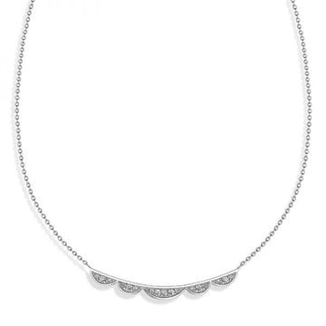 Vixi Lace Bar Necklace