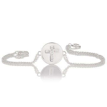 Molly Brown London Angel Of Mine Cross Bracelet