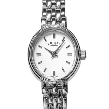 Ladies Rotary Steel Dress Watch