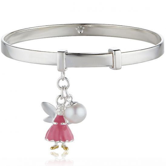 Molly Brown London Pink Fairy Wish Bangle