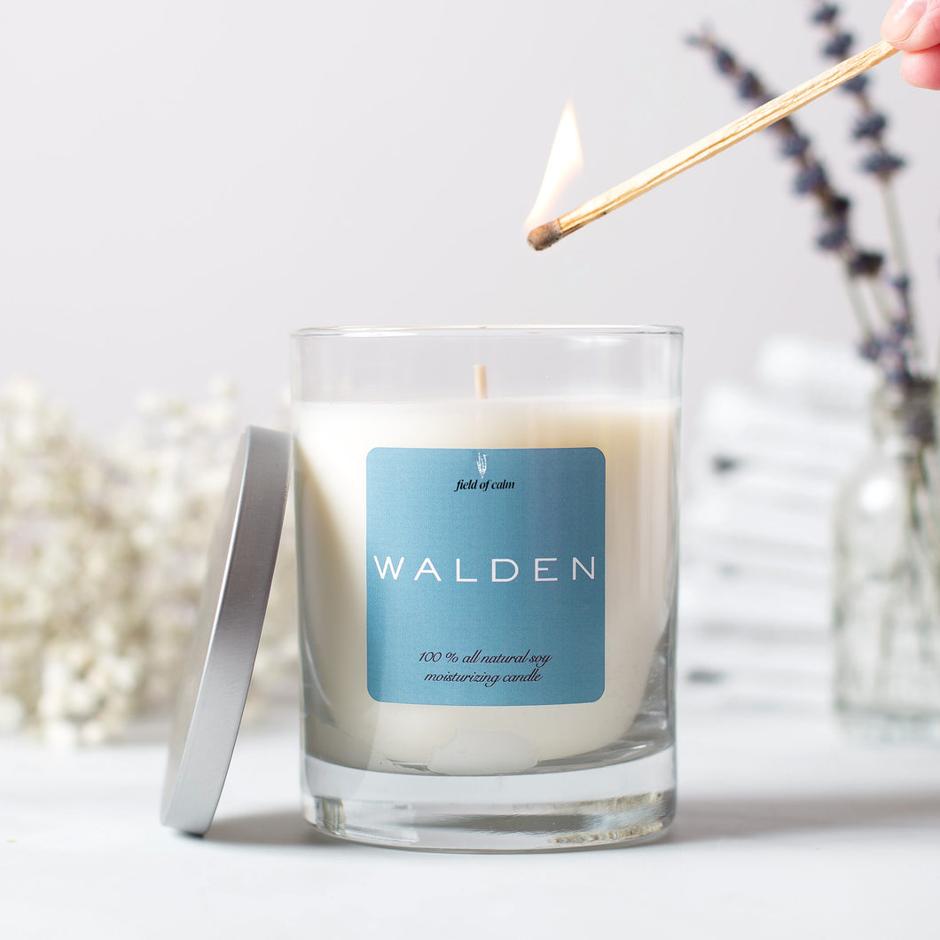 Walden Soy Candle -Field of Calm