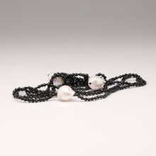 Load image into Gallery viewer, Freshwater Pearl Crystal Lariat