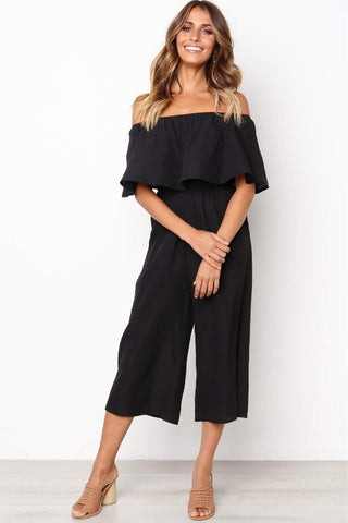 Sherobikini  Big Flouncing Wide Leg Jumpsuits