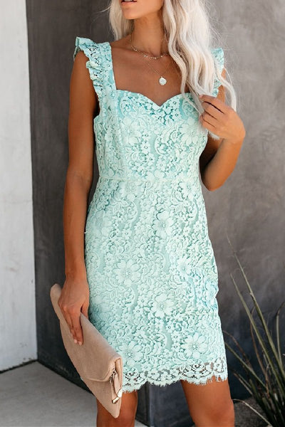 Sherobikini Lace Eyelash Dress