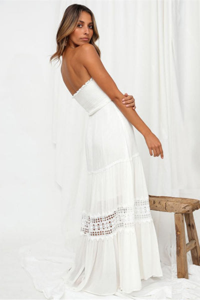 Sherobikini Agatha Maxi White Dress