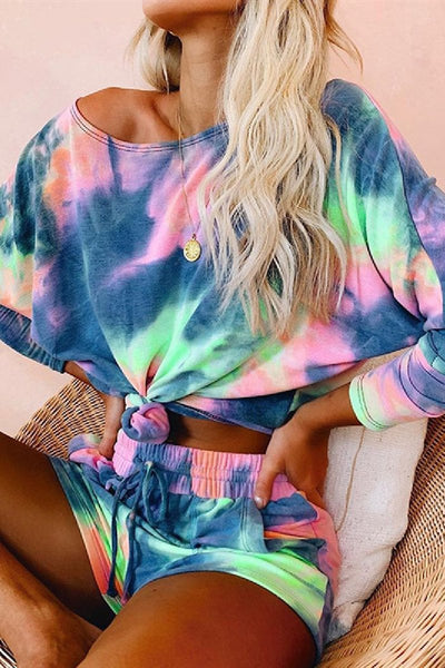 Sherobikini Tie Dye Two-Piece Set